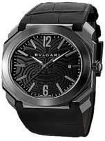 Bulgari OCTO Steel Automatic Date All Blacks Mens Watch BGO41BSBLD/AB