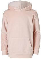 John Lewis Girls' Velour Hoodie, Pink