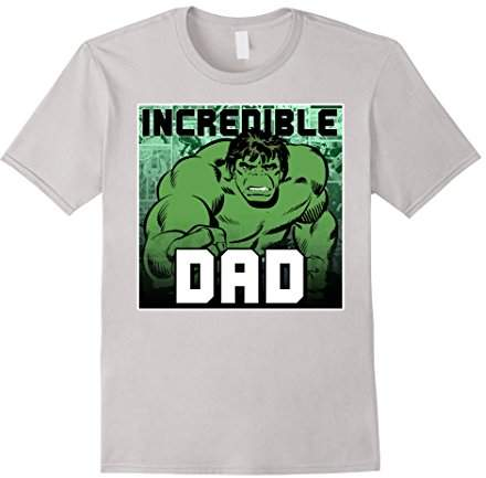 Marvel Hulk Father's Day Incredible Dad Graphic T-Shirt C2