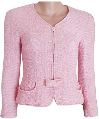 Chanel Pink Tweed Jackets
