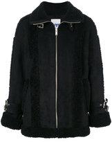 Sjyp short shearling coat