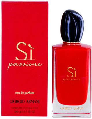 Giorgio Armani Women's 3.4Oz Si Passione Eau De Parfum Spray