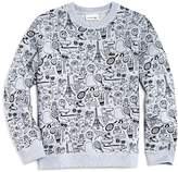 Lacoste x Omy Boys' Graphic Sweatshirt - Little Kid, Big Kid