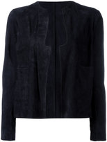Salvatore Santoro - suede jacket - women - Leather - 40
