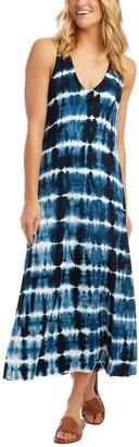 Karen Kane Tie-Dye Midi-Length Dress