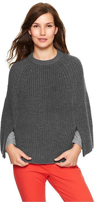 Gap Sweater zip cape