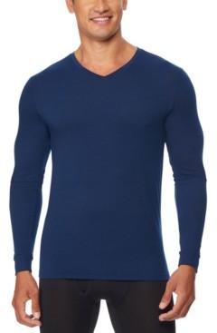 32 Degrees Men's Heat Plus Long-Sleeve V-Neck Shirt