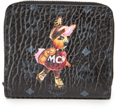 MCM Rabbit Mini Zip Wallet