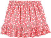 Lili Gaufrette Printed skirt