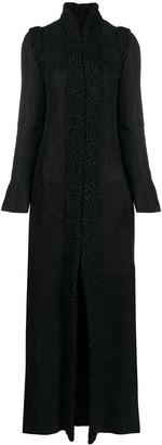 Gianfranco Ferré Pre-Owned 1990s Detachable Sleeves Long Coat