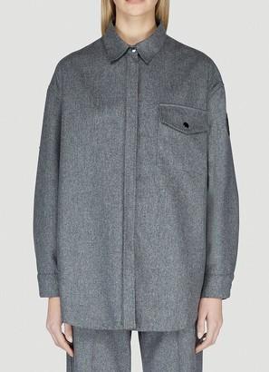 Moncler Oversized Button-Up Shirt