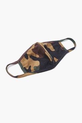 Forever 21 Camo Print Face Mask