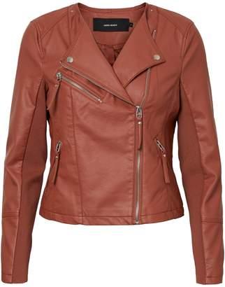 Vero Moda Ria Zip-Front Moto Jacket