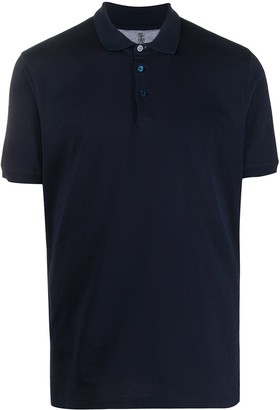 Brunello Cucinelli Shortsleeved Buttoned Polo Shirt