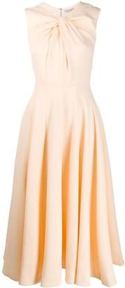 Emilia Wickstead Sleeveless Flared Dress