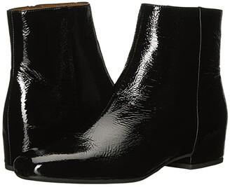 Aquatalia Ulyssaa (Black Naplak) Women's Shoes