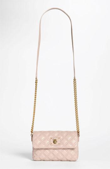 Marc Jacobs 'Quilting - Single' Leather Shoulder Bag