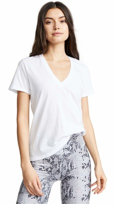 Monrow Women's Tissue V-Neck Tee
