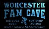 AdvPro Name td2177-b Worcester Basketball Fan Cave Man Room Bar Beer Neon Light Sign