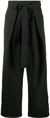 colville Waist-Tied Oversized Trousers