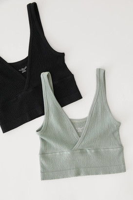 Out From Under Drew Seamless Surplice Bra Top