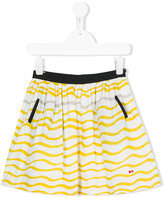 Rykiel Enfant - waves print skirt - kids - Cotton - 2 yrs