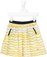 Rykiel Enfant waves print skirt