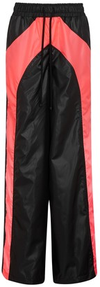 Koral Activewear X KAPPA Verona panelled shell trousers