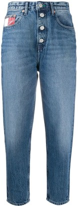 Tommy Jeans Tapered High Rise Jeans