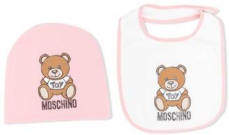 MOSCHINO BAMBINO Teddy Bear Bib