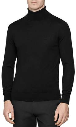 Reiss Caine Wool Slim Fit Turtleneck Sweater