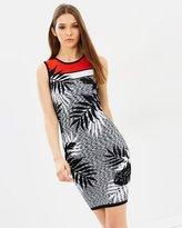 Karen Millen Fern Knit Pencil Dress
