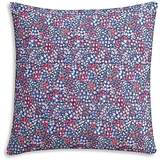 Cupcakes And Cashmere Sketch Floral Decorative Pillow, 18 x 18