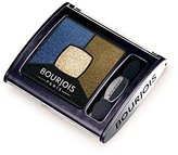 Bourjois Quad Smoky Stories Eyeshadow, Welcome Black 4g - (Pack of 4)