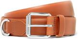 A.P.C. 3cm Camel Fabien Leather Belt