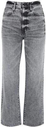 SLVRLAKE London Grey Straight-leg Jeans