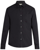 Vince Button-cuff Cotton Shirt