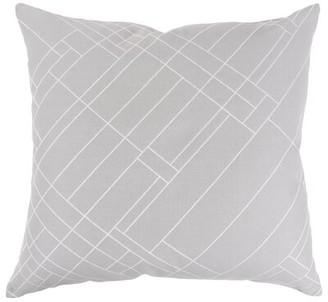 Frank Lloyd Wright Oak Park Jacquard Cotton Throw Pillow