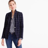 J.Crew Regent blazer in windowpane print