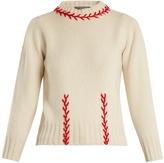Alexander McQueen Stitch-detail cashmere sweater