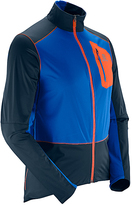 Salomon Blue Yonder & Vivid Orange Equipe Softshell Jacket - Men
