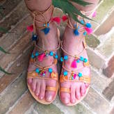 Iris Ibiza Tassel Handmade Leather Sandals