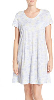 Carole Hochman Print Cotton Sleep Shirt
