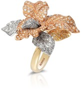 Effy Jewelry Trio 14K Tri-Color Gold Diamond Ring, 2.68 TCW