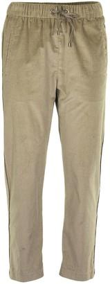 Brunello Cucinelli Cotton And Cashmere Corduroy Track Trousers With Monili