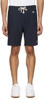 Champion x Beams Navy Logo Shorts