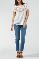 Sugarhill Boutique Tropical Embroidered Top
