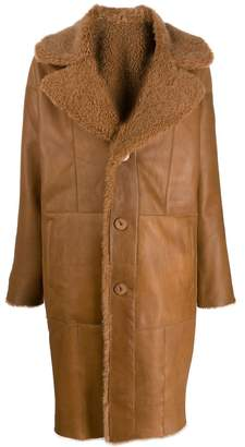 Drome reversible single breasted coat