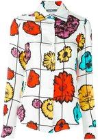 Moschino floral print shirt