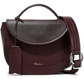 3.1 Phillip Lim Hudson Textured-leather Shoulder Bag